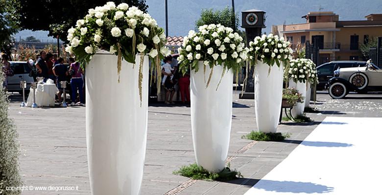 Favoloso Addobbi floreali Nozze | Fotografo Matrimonio Napoli | DIEGO RUSSO  AQ96