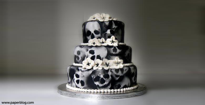 Matrimonio Tema Halloween : Torta nuziale in tema halloween fotografo matrimonio