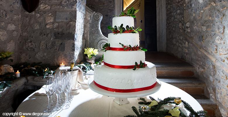 La Wedding Cake Natalizia