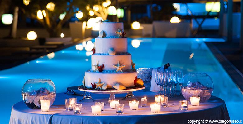 Ben noto Wedding cake a tema marino | Fotografo Matrimonio Napoli | DIEGO  OX23