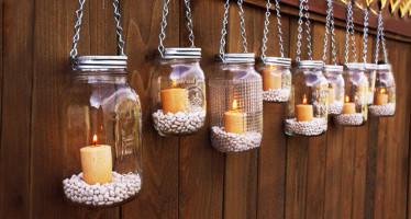 Lanterne Barattolo