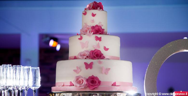 Torta A Tema Le Farfalle Fotografo Matrimonio Napoli
