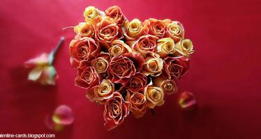 Bouquet a forma di cuore