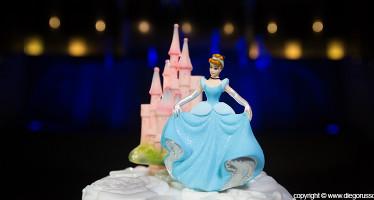 Cake Topper Cenerentola