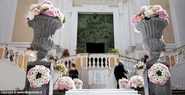 Conosciuto I fiori fuori chiesa   Fotografo Matrimonio Napoli   DIEGO RUSSO  KL67