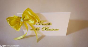 Segnaposto Matrimonio Giallo.Segnaposto In Giallo Fotografo Matrimonio Napoli Diego Russo