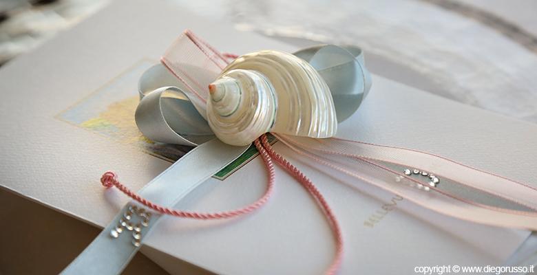 Foto Tema Mare Conchiglia - Foto Gadget Nozze - Wedding - Nozze - Segnaposto Nozze