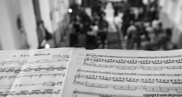 La musica durante la cerimonia