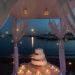 La wedding cake in riva al mare