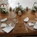 Il minimal chic in tavola