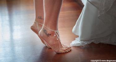 cavigliera sposa