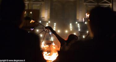 Spettacolo coreografico del fuoco