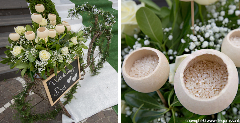 Le piante porta riso fotografo matrimonio napoli diego - Porta riso matrimonio ...