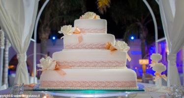 Wedding cake in pizzo