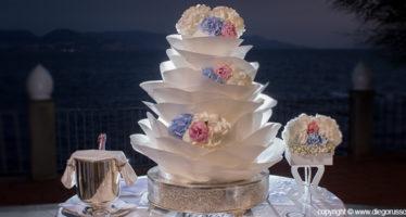 Wedding cake_ la rosa