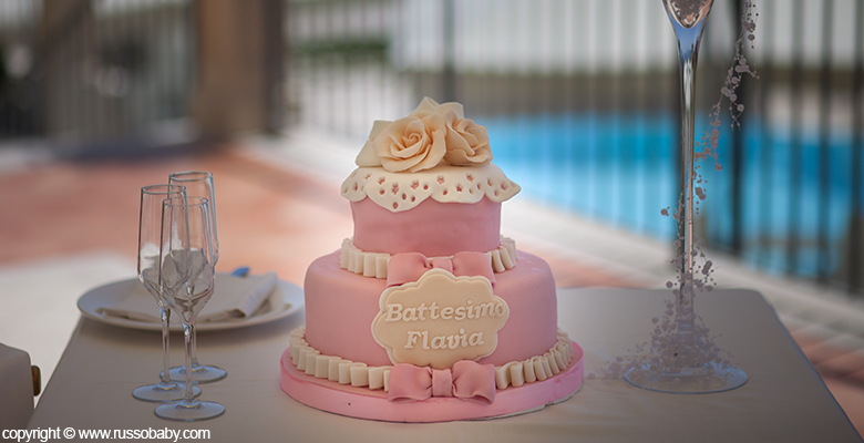 Favorito Torta battesimo bimba | Fotografo Matrimonio Napoli | DIEGO RUSSO  SI04