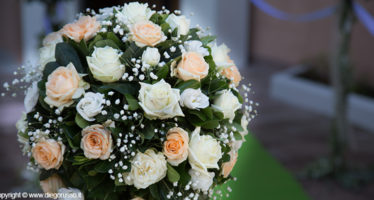 Matrimonio: bouquet di rose