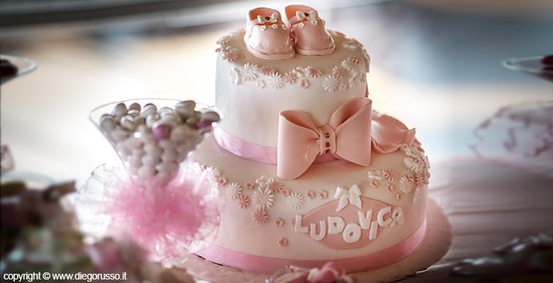 Cake topper torta battesimo