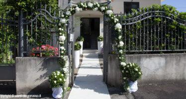 Matrimonio: uscita di casa della sposa