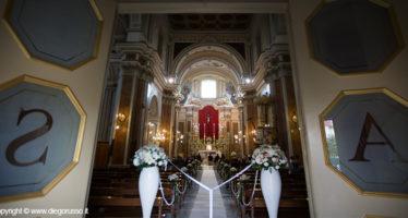 Entrata della chiesa durante il rito