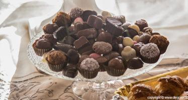 Tavolo dei dolci: i cioccolatini