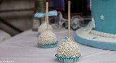 Delizie di matrimonio dolcetti al cocco
