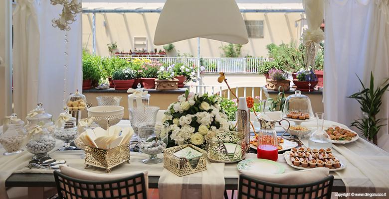 Tavolo dei dolci a casa degli sposi fotografo matrimonio for Tavolo degli hobby