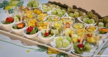Angolo frutta per wedding