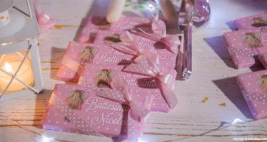 cioccolata per il Battesimo