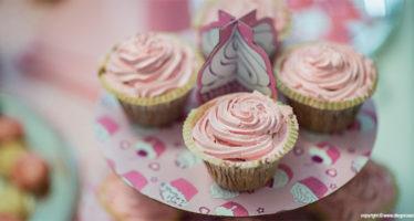 Cupcakes con mousse al gelato