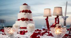 Un matrimonio in rosso