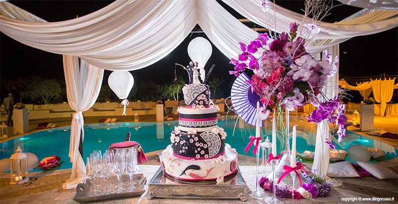 Wedding cake orientale