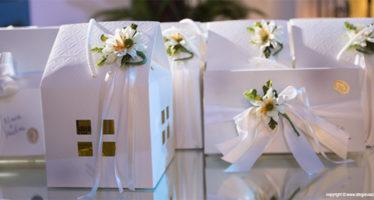 Decorazioni per bomboniera da matrimonio
