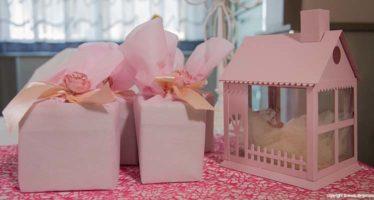 Bomboniera in rosa