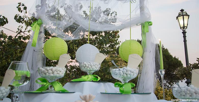 Matrimonio Tema Verde : Confettata in verde fotografo matrimonio napoli diego