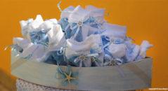 Fazzolettini per confetti da cerimonia