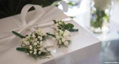 Wedding: fiori all'occhiello