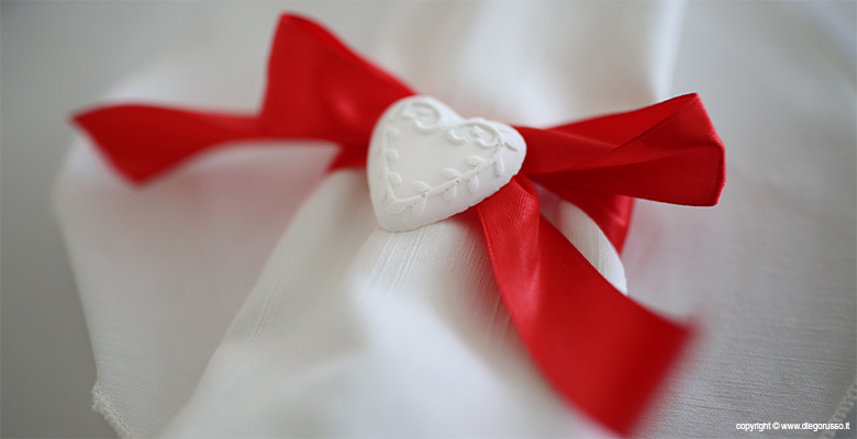 Segnaposto Matrimonio Tema Napoli : Un cuore di segnaposto fotografo matrimonio napoli