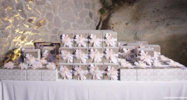 Wedding: il tavolo delle bomboniere
