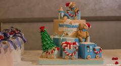 torta battesimo natalizia