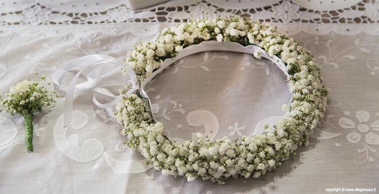 Damigelle: una coroncina di fiori