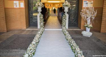 Matrimonio: gli addobbi per la chiesa