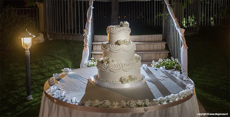 Wedding cake: un momento magico