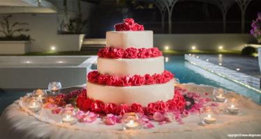 Wedding: una torta colorata
