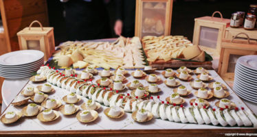 Buffet: l'angolo degli assaggi