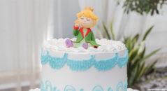 Cake topper: il piccolo principe