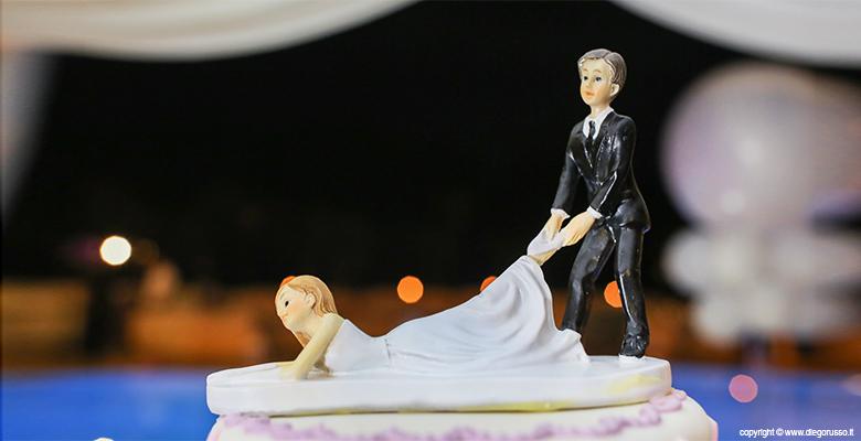 Sposi: cake topper
