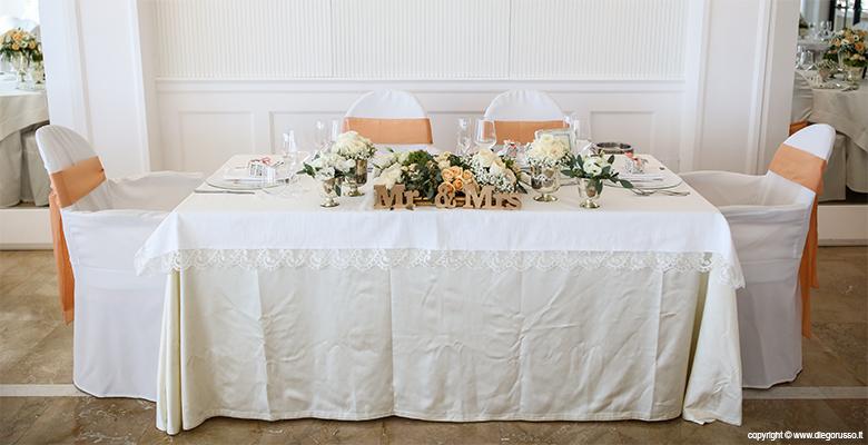 Wedding: il tavolo d'onore