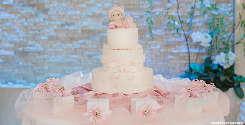 Battesimo - baby cake