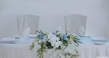 Details: il tavolo degli sposi